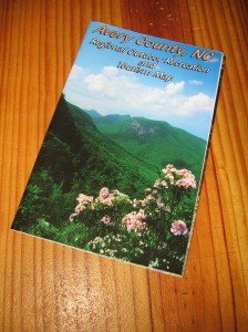 Avery County Recreation Map