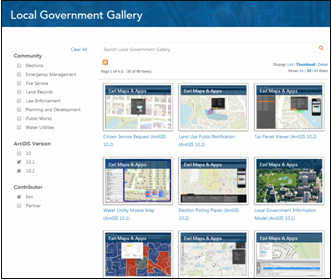 Local Government Apps and Maps