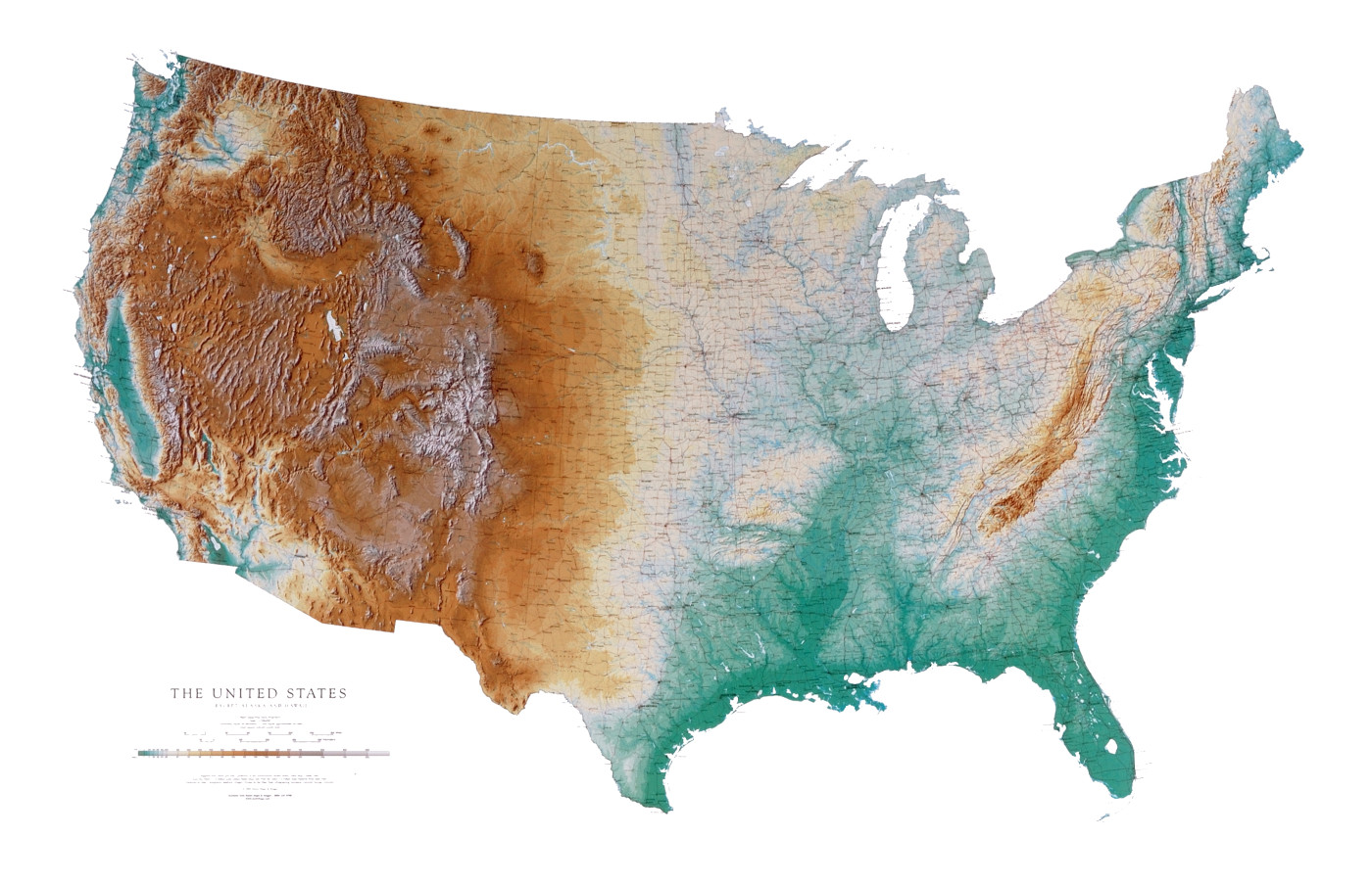 States Topo Map Maps Of The USA The United States Of America Map - Us topo maps android